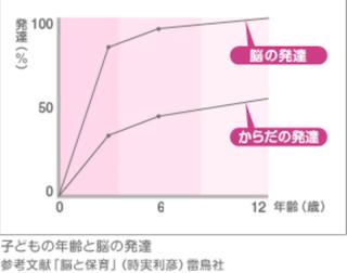 脳発達グラフ